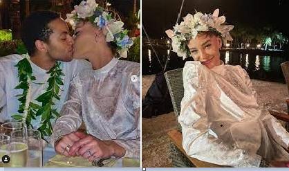 Sade Adu's transgender son marries girlfriend