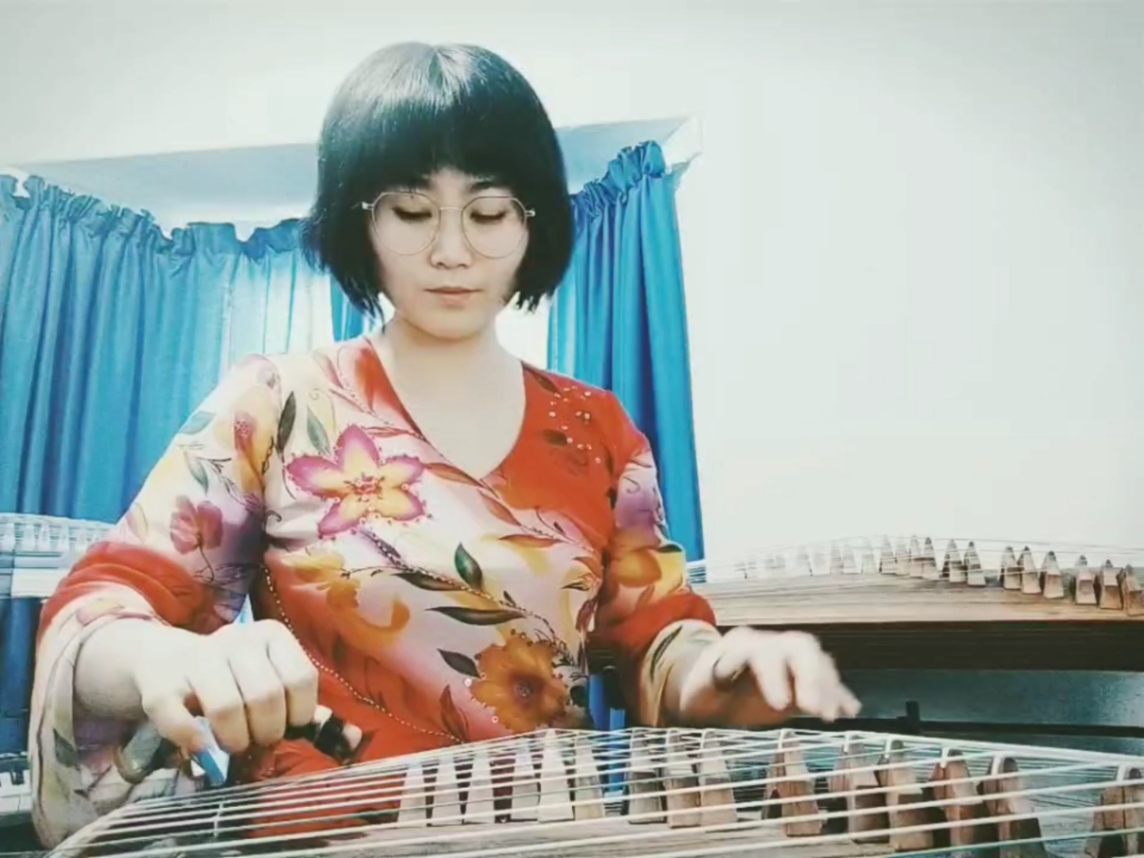 Luna's Guzheng improvisation piece - WIP 2019.10