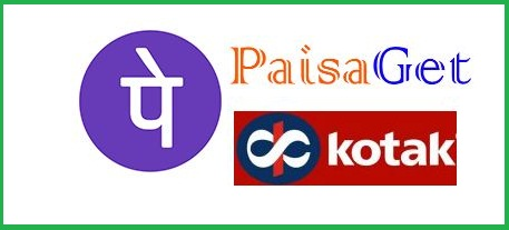 Trick to get 300 Rs From Paisaget, Phonepe and Kotak-Tricksnomy