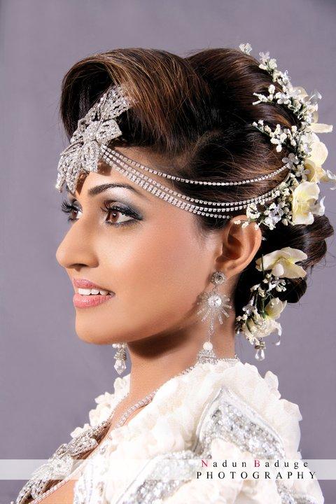 sri lankan super models at bridal hair design sri lankan