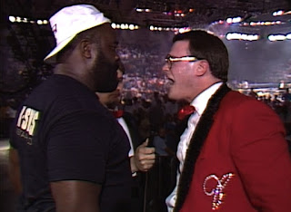 WCW Capital Combat 1990 - Jim Cornette confronts the Junkyard Dog