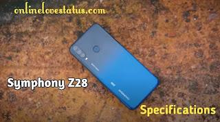 Symphony Z28 Full Phone Specifications