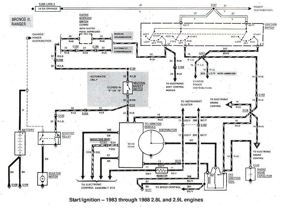 1983 1988+Ford+Bronco+II+Start+Ignition+Wiring+Diagram?resize\=665%2C492 2003 ford focus ignition switch wiring diagram 08 ford escape 1956 ford ignition switch wiring diagram at honlapkeszites.co