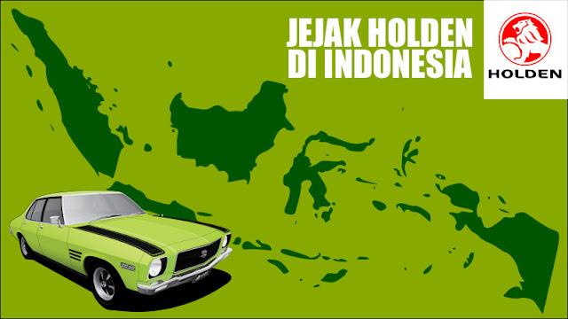 Jejak Holden di Indonesia
