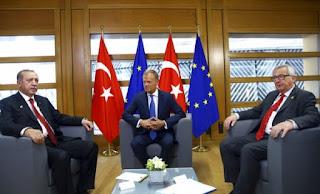 Η Ε.Ε. για Erdogan και Putin: Λόγια, λόγια, λόγια...
