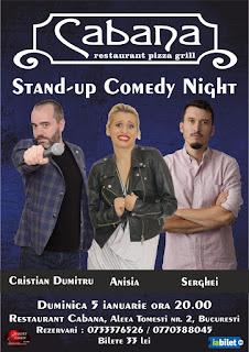 Standup Comedy Show Duminica