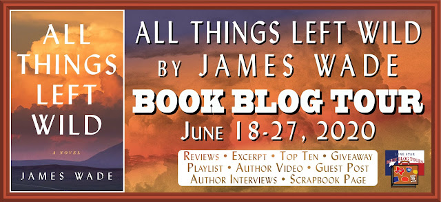 All Things Left Wild book blog tour promotion banner