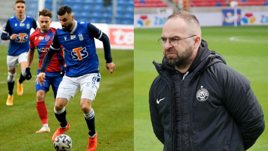 Mikael Ishak, Piotr Tworek | foto: Damian Garbatowski, Piotrek Przyborowski
