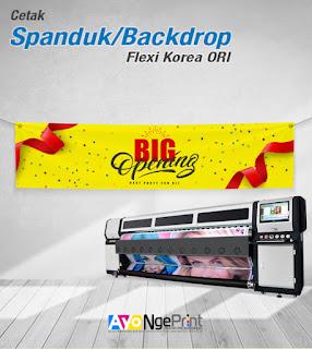 Cetak Spanduk Banner Digital Printing di Sawah Besar, Jakarta Pusat