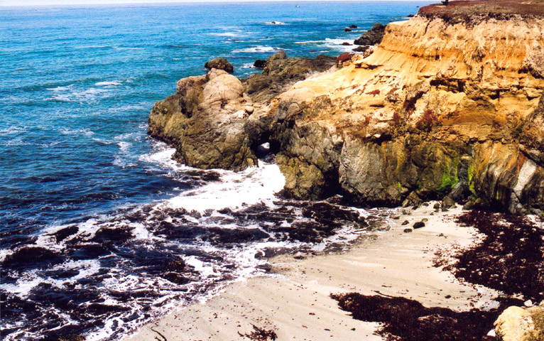 Moss Beach On Half Moon Bay Is A Supposed Place Where The Blue Lady Roams