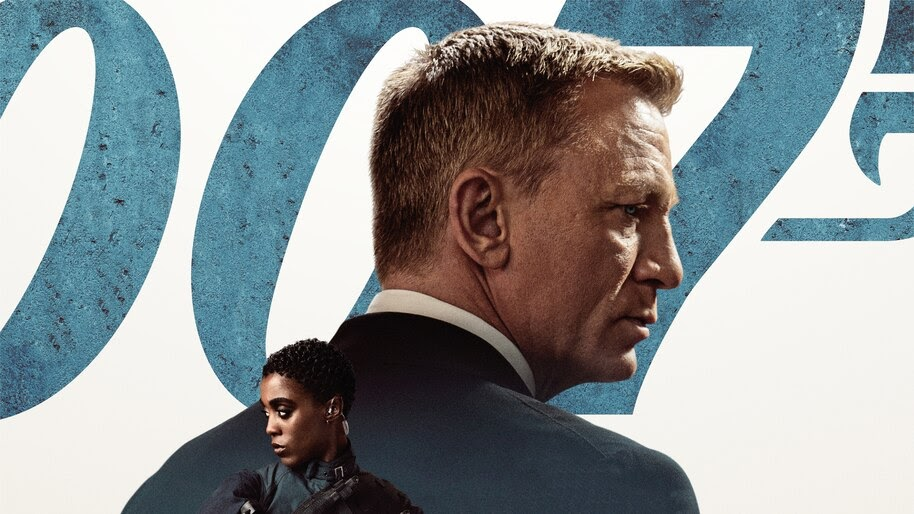 No Time to Die, 007, Movie, Poster, 4K, #6.2557