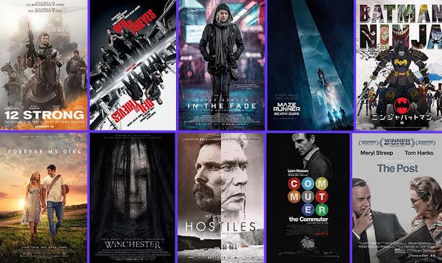 الإصدارات العالية الجودة HD في شهر أبريل 2018 April