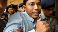 MYANMAR POLICE OFFICER WHO TESTIFIED ABOUT ENTRAPMENT IS PUNISHED