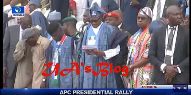 Amosun's supporters embarrass Buhari, Oshiomhole, other APC leaders