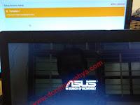 CARA MENGATASI STUCK LOGO ASUS PADA LAPTOP ASUS X453M