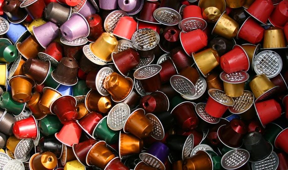 Modernistyczne Blog drobno mielony: Capsul'in. Puste kapsułki do kawy ZF76