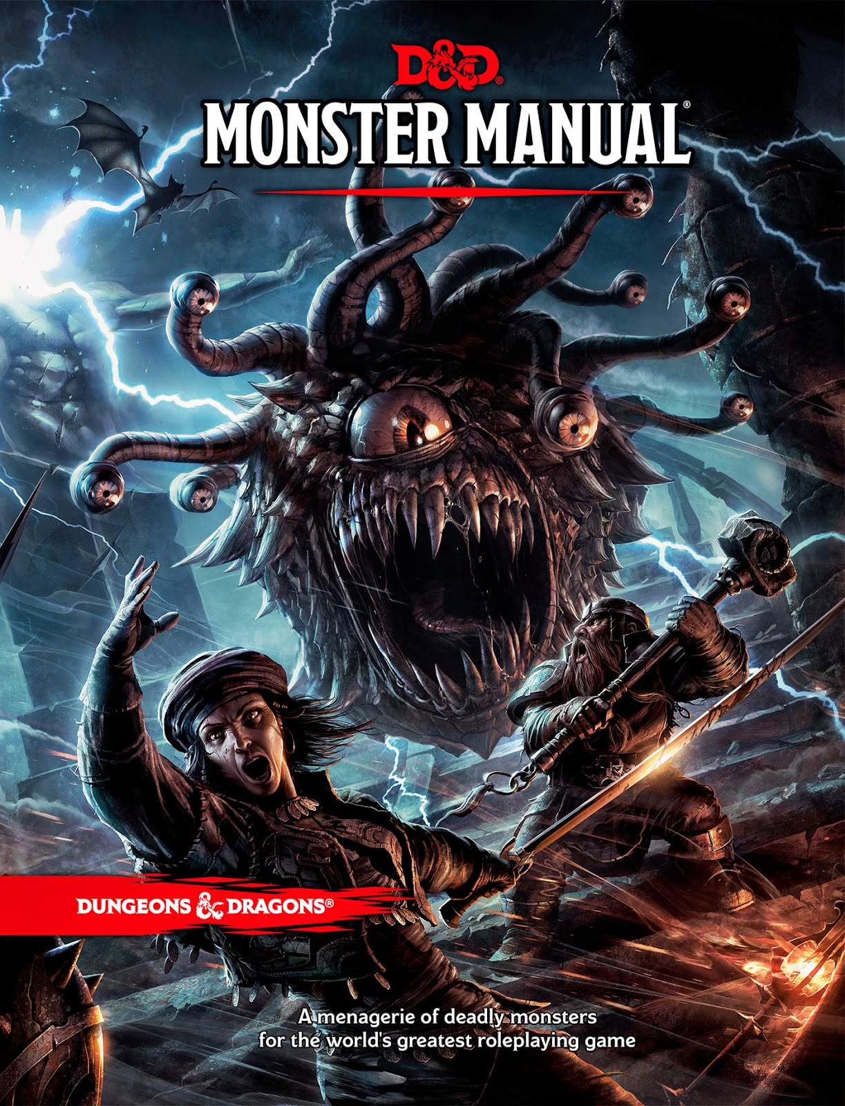 D&D Monster Manual Front Cover