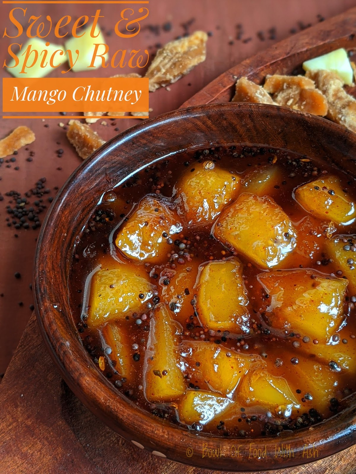 Sweet and Spicy Raw Mango Chutney Recipe | How to make Aam Ki Launji