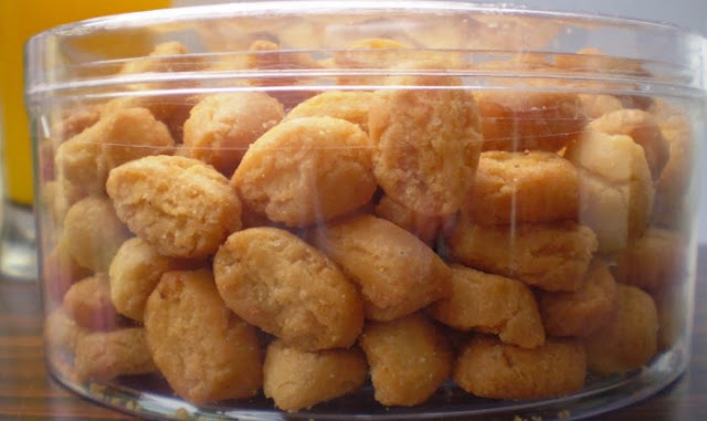 Resep kue biji ketapang