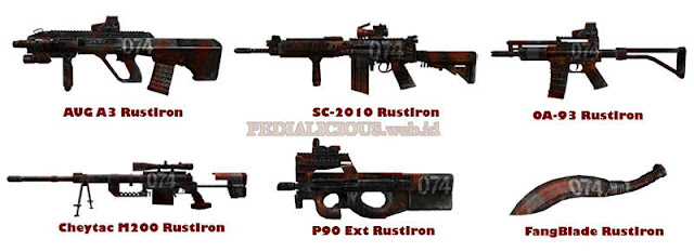 Rust Iron Series Point Blank Indonesia
