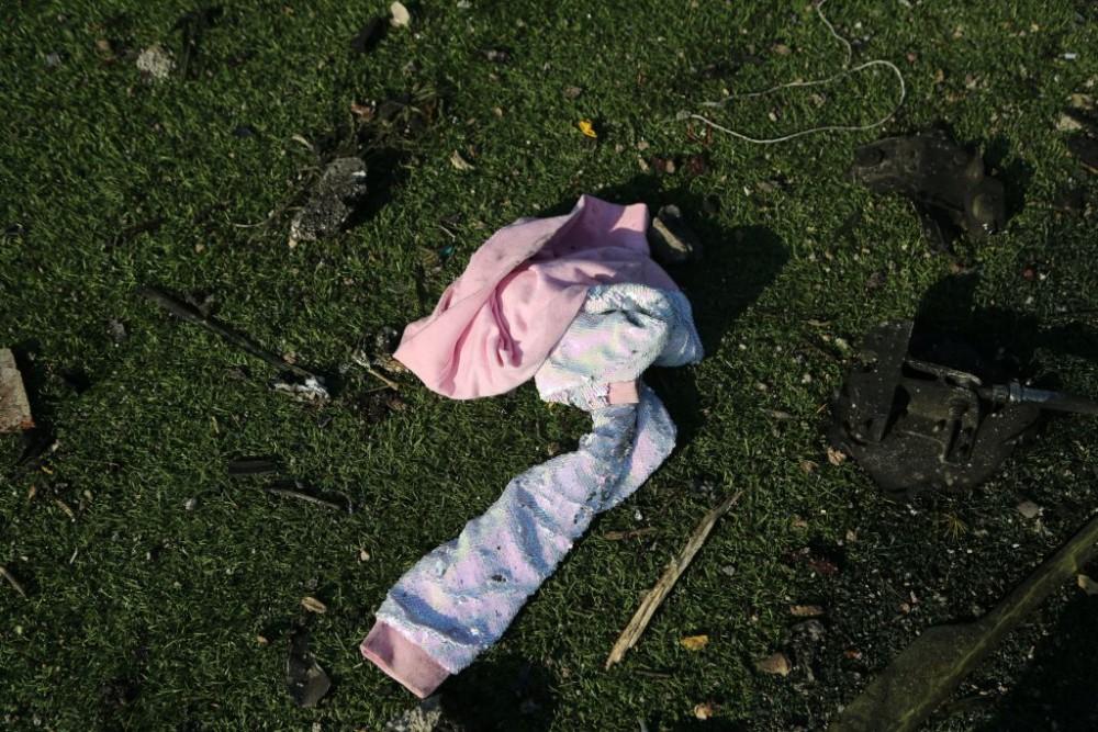 Imagini sfâșietoare de la locul prăbușirii avionului ucrainean în Iran. Ce s-a găsit