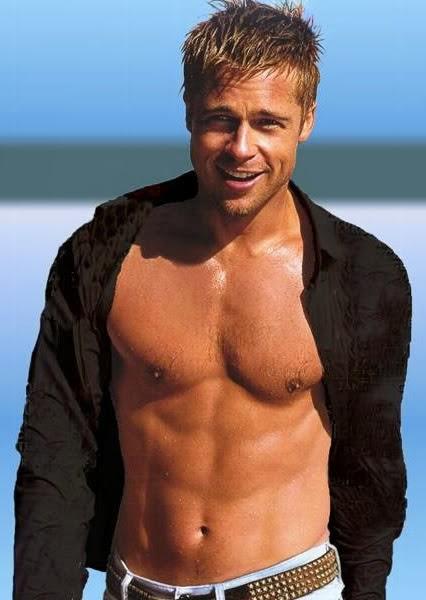 Brad Pitt Body Workout And Diet Plan - Top Ten Indian ...