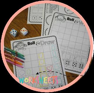 roll and read kindergarten worksheets