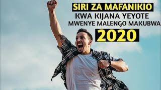 Siri 5 kubwa Za Mafanikio Kimaisha 2020