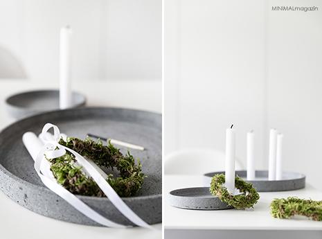 Kränze aus Moos lassen sich einfach und schnell selber machen - auch für Anfänger geeignet!