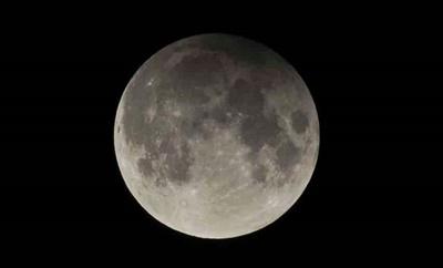 Eclipse lunar ocorrerá na madrugada deste domingo
