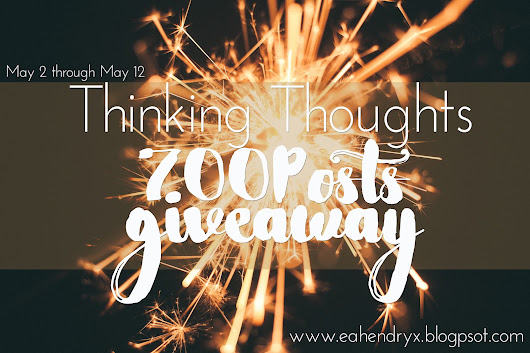 700 Posts Strong | Giveaway