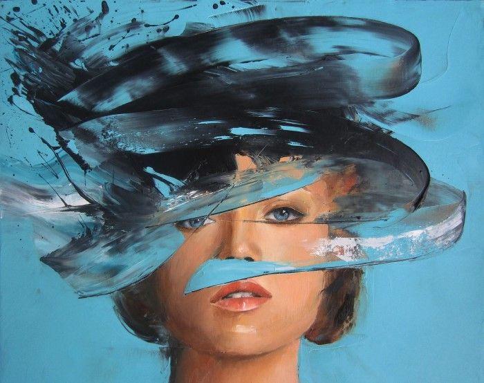 Современный австралийский художник. Vanessa Poutou