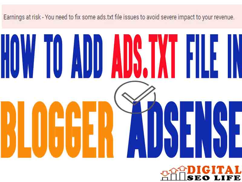 how-to-add-adstxt-file-in-blogger