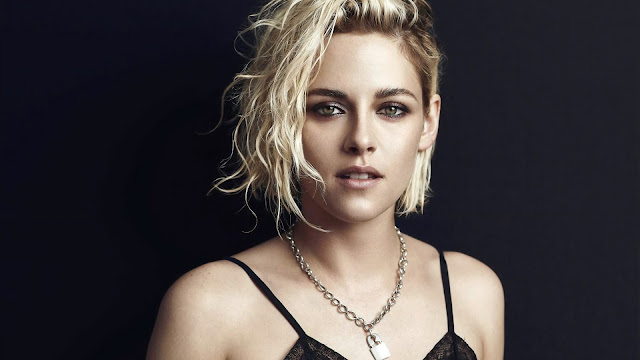Kristen Stewart Blonde hair cut wallpaper