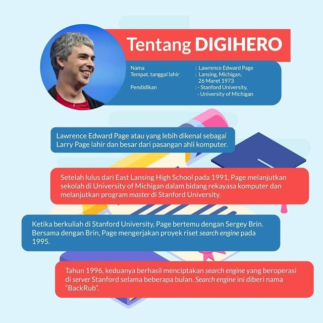 Biografi Larry Page Sang Pendiri Google 1