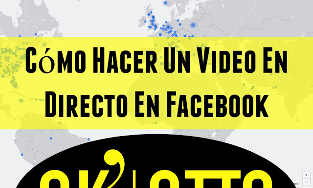 Como hacer un video en vivo en facebook