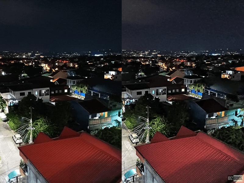 Low light vs Night mode