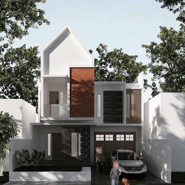 desain rumah gaya eropa klasik