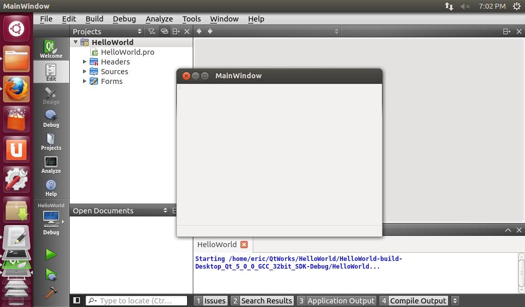 Qteveloper: Install Qt 5 0 0 on fresh new Ubuntu 12 10