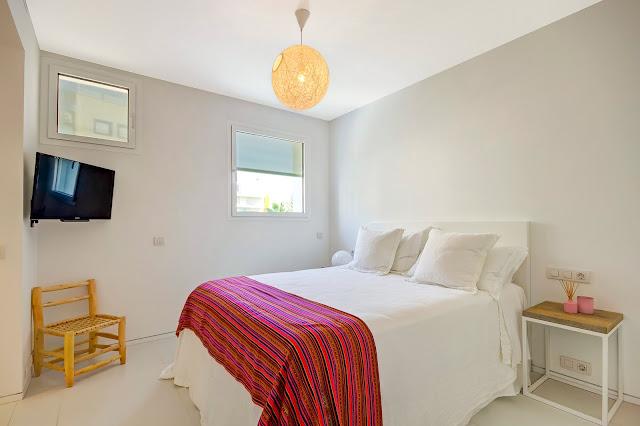 Dormitorio estilo ibicenco