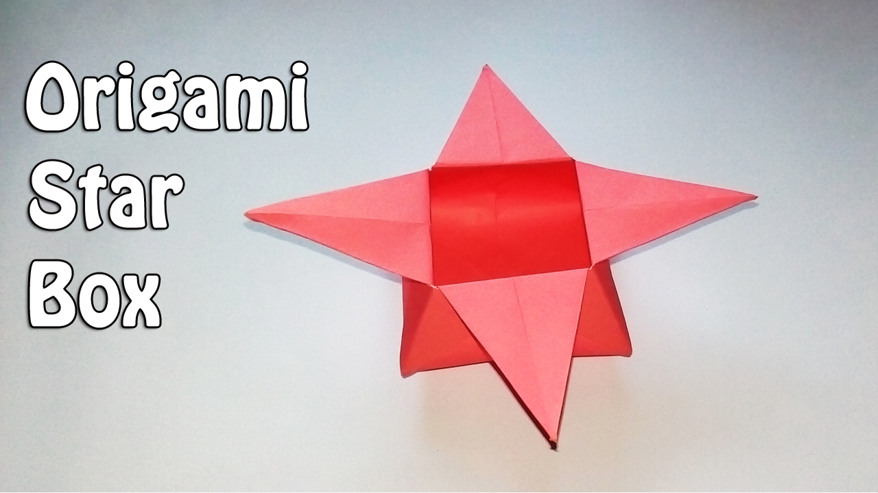 origami star box - Google Search #origamiinstructions | Origami  instructions, 3d origami tutorial, Origami star box | 720x1280
