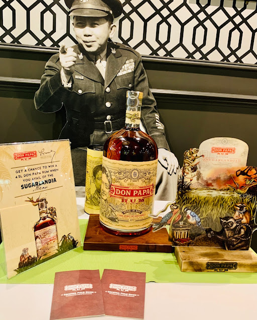 Don Papa rum giveaway Romulo restaurant