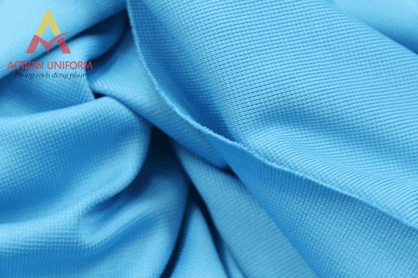 Vải thun trơn cotton 4 chiều