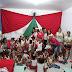 Social entrega presentes para crianças da creche Belizana Pereira, no distrito de Salomeia
