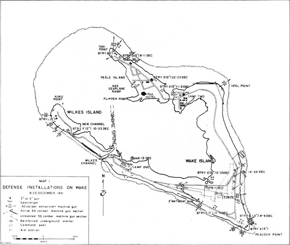 Ilha Wake | Mapas da Ilha Wake | Estados Unidos da América