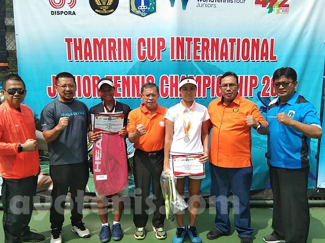 Tekuk Unggulan Pertama, Fitriani Sabatini Sabet Juara Thamrin International Junior Championships