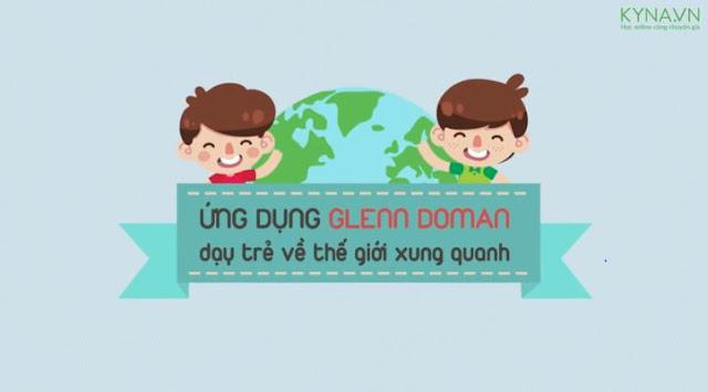 Khóa học ứng dụng Glenn Doman dạy trẻ về thế giới xung quanh
