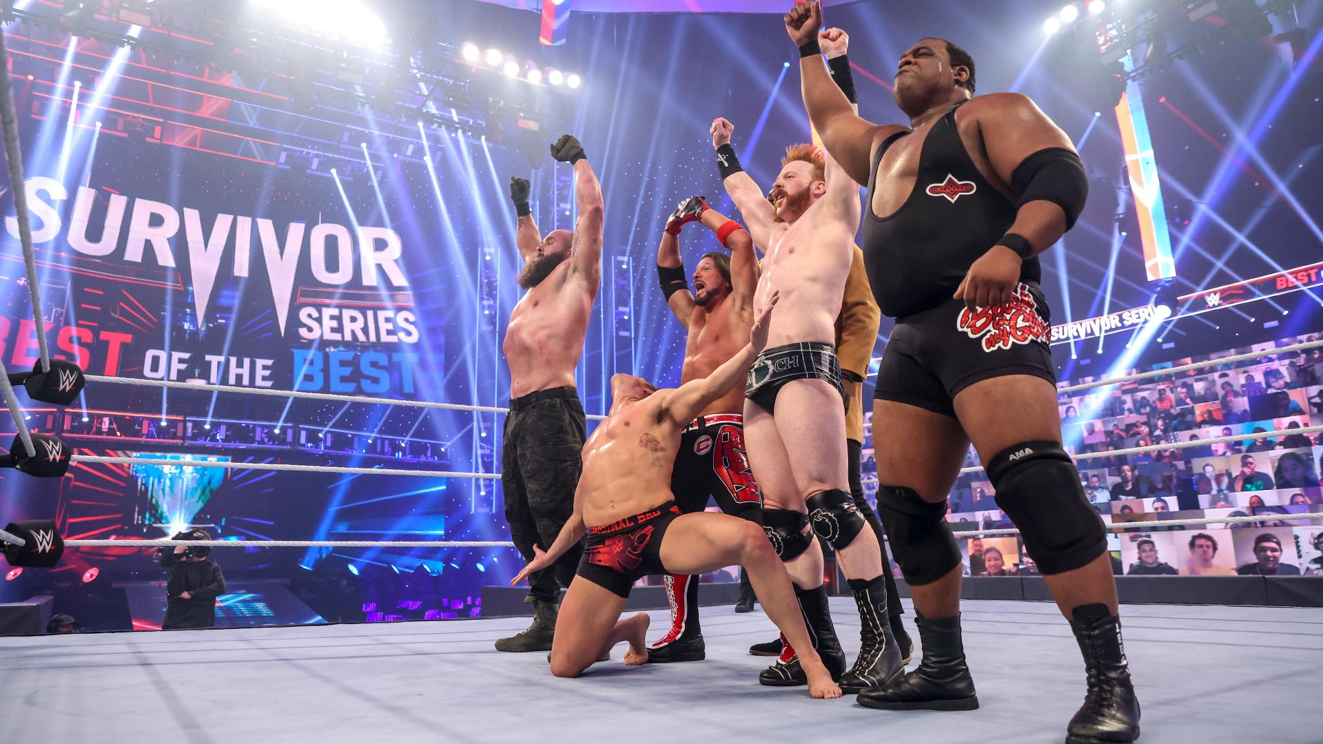 Team RAW destrói Team SmackDown e aumenta a vantagem vermelha na disputa de brands