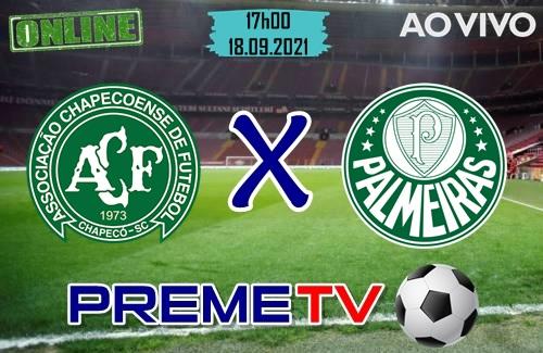Chapecoense x Palmeiras Ao Vivo