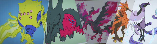 Pokémon Espada Escudo Aves legandaries Reggies Las nieves de la corona Pase de expansión